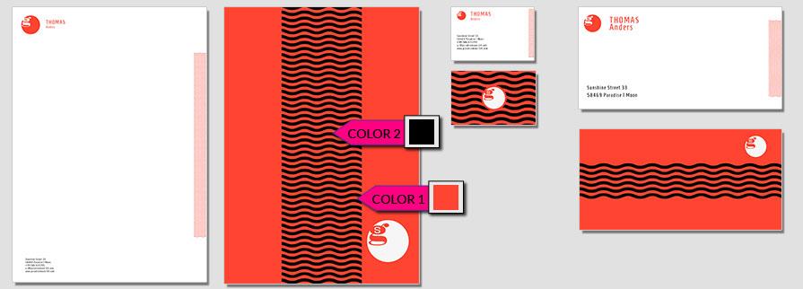 105 Stationery Corporate Design Geschaeftsausstattung Branding 2