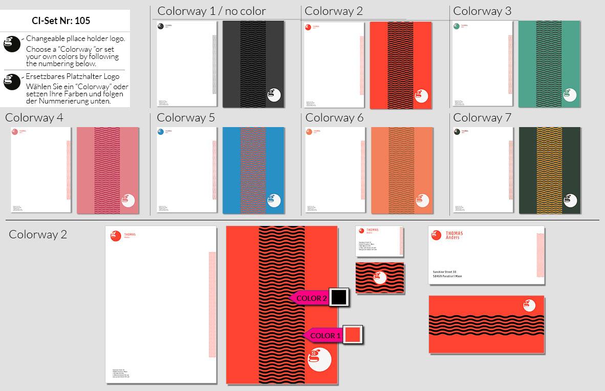 105 Stationery Corporate Design Geschaeftsausstattung Branding 4