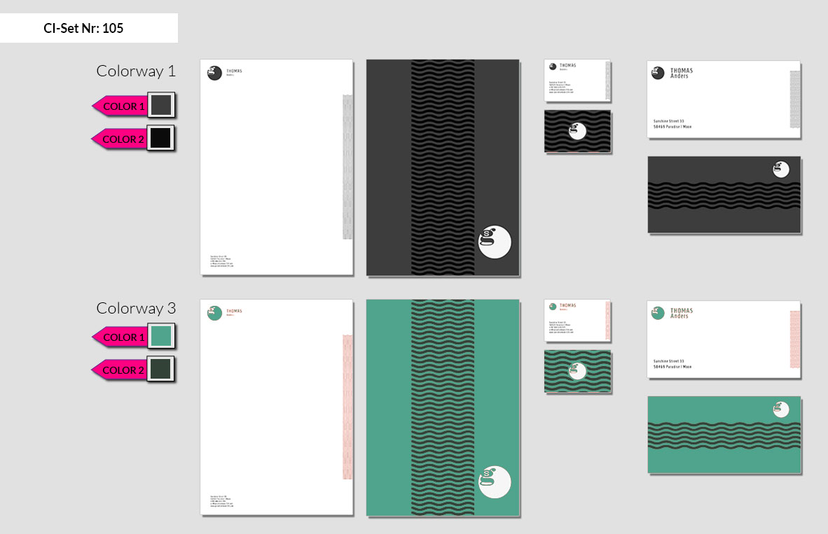 105 Stationery Corporate Design Geschaeftsausstattung Branding 5
