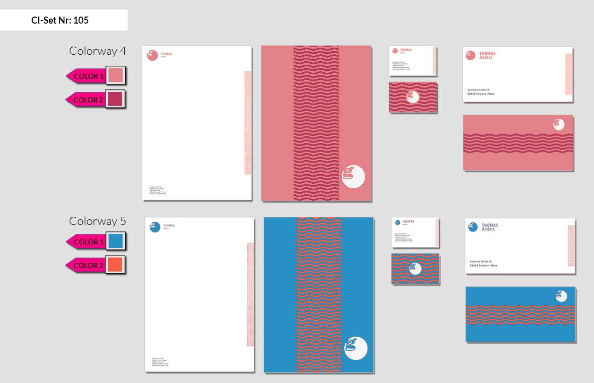 105 Stationery Corporate Design Geschaeftsausstattung Branding 6
