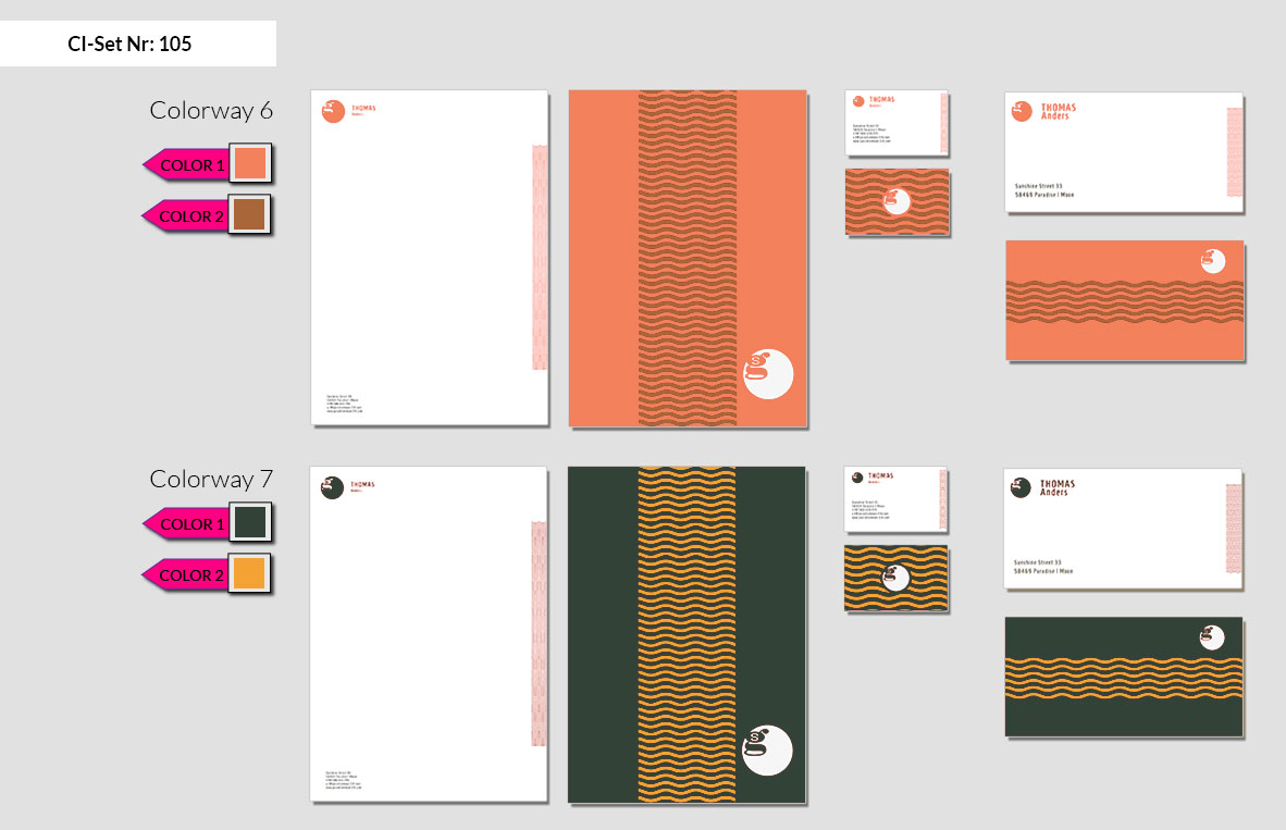 105 Stationery Corporate Design Geschaeftsausstattung Branding 7