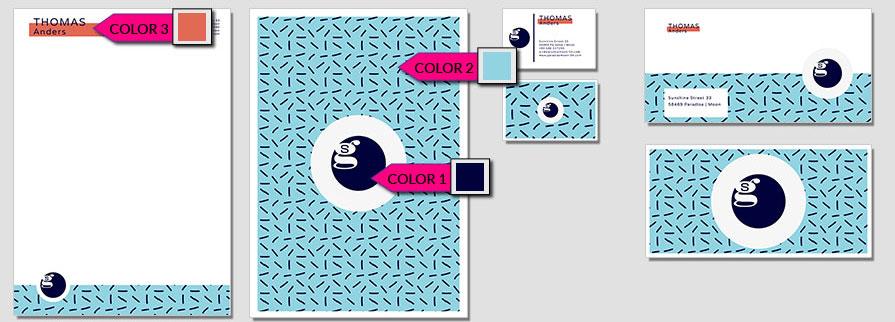 107 Stationery Corporate Design Geschaeftsausstattung Branding 1