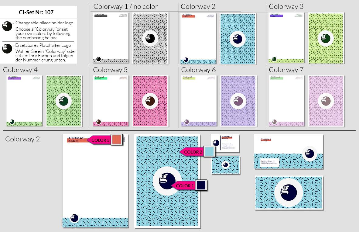 107 Stationery Corporate Design Geschaeftsausstattung Branding 2