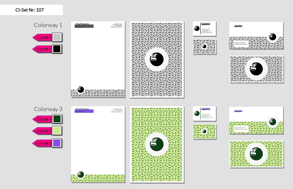 107 Stationery Corporate Design Geschaeftsausstattung Branding 3