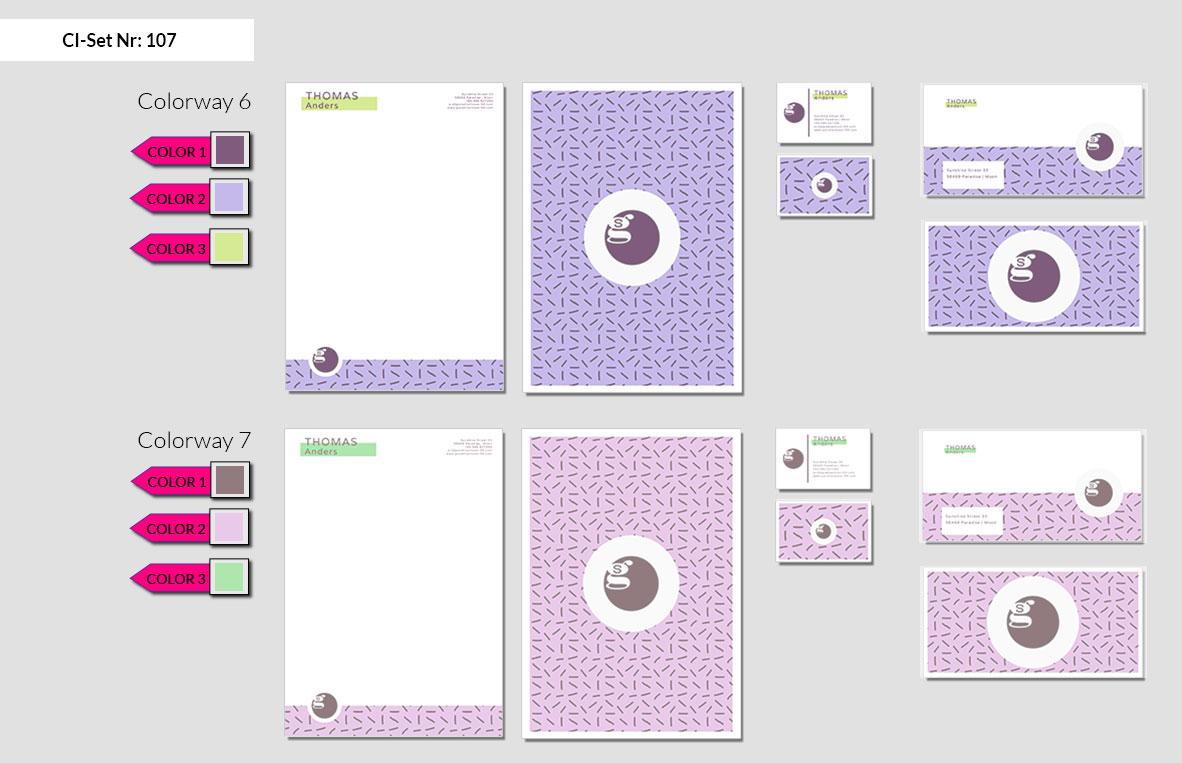 107 Stationery Corporate Design Geschaeftsausstattung Branding 5