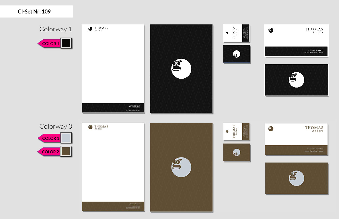 109 Stationery Corporate Design Geschaeftsausstattung Branding 3