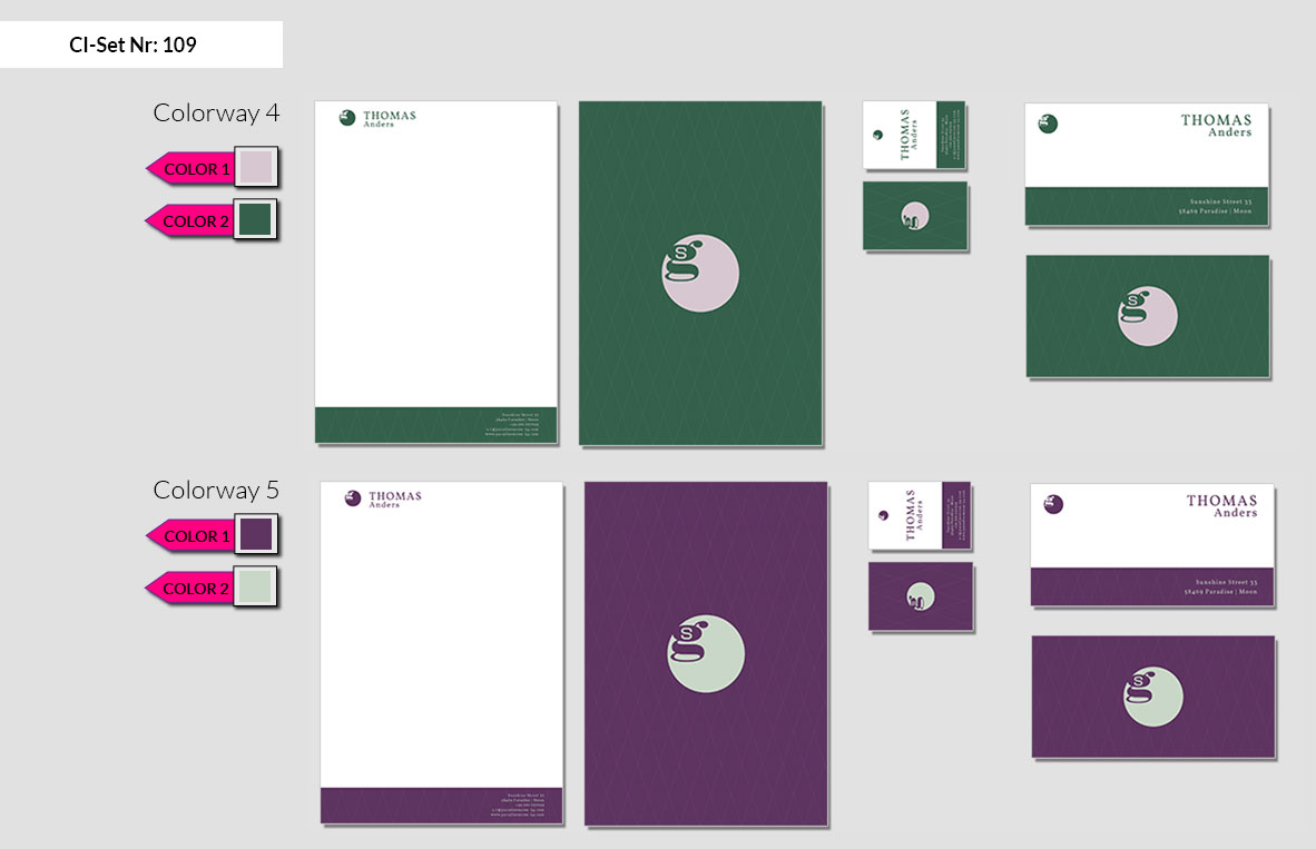 109 Stationery Corporate Design Geschaeftsausstattung Branding 4