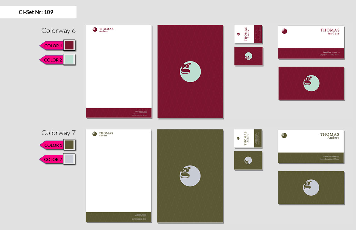 109 Stationery Corporate Design Geschaeftsausstattung Branding 5