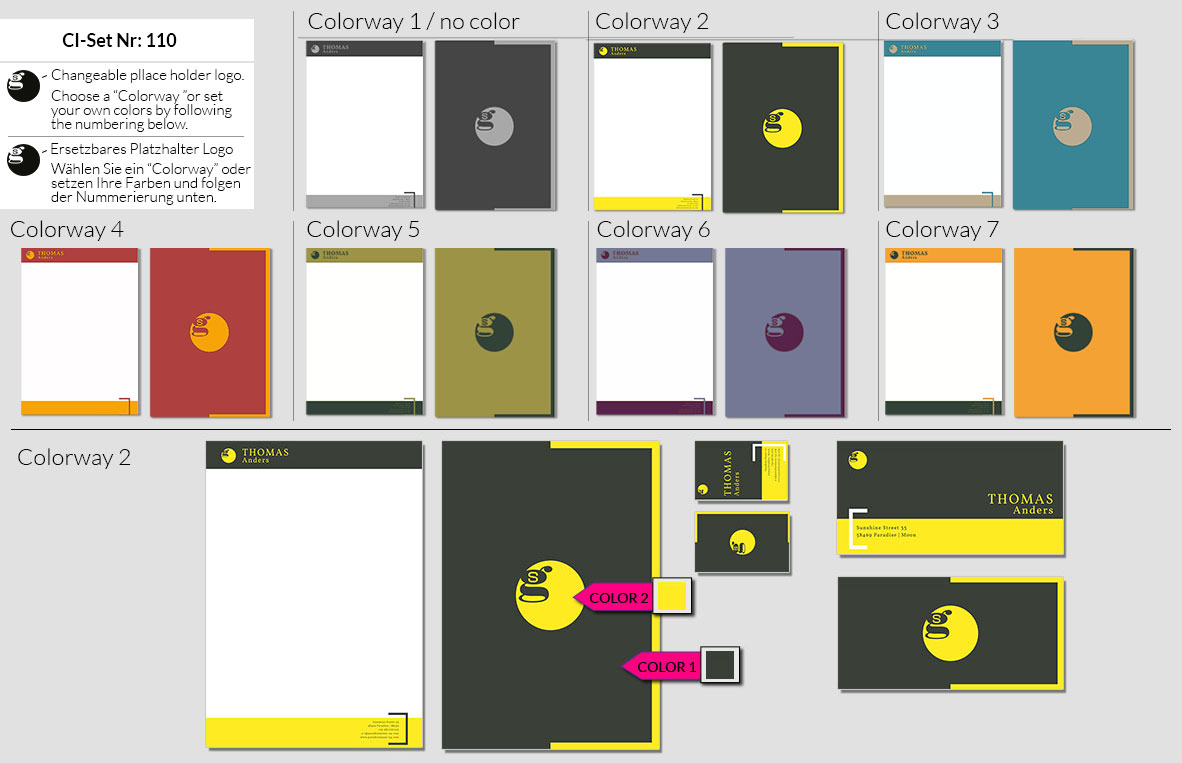 110 Stationery Corporate Design Geschaeftsausstattung Branding 2