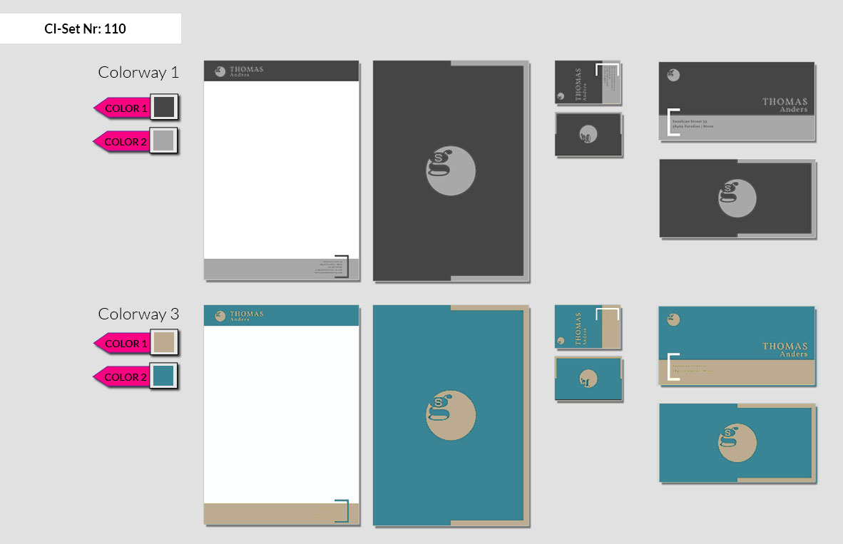 110 Stationery Corporate Design Geschaeftsausstattung Branding 3