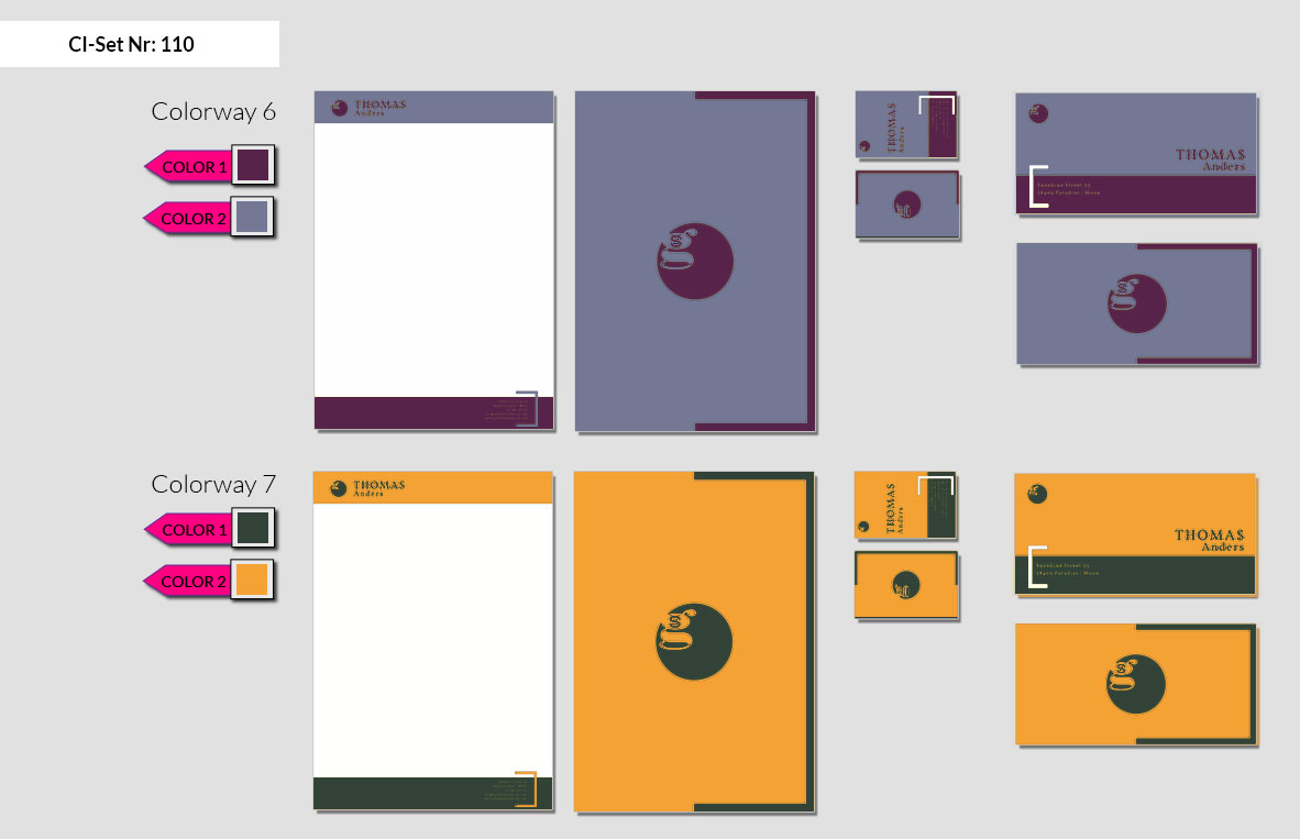 110 Stationery Corporate Design Geschaeftsausstattung Branding 5