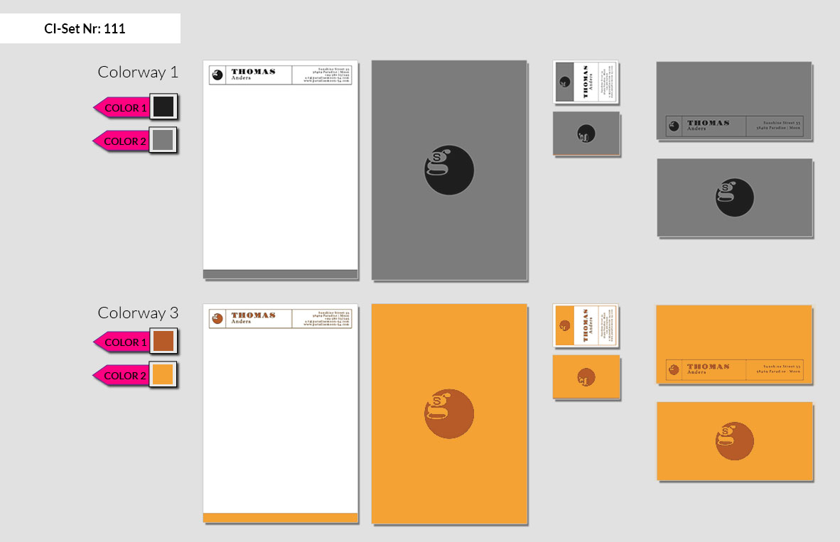 111 Stationery Corporate Design Geschaeftsausstattung Branding 3