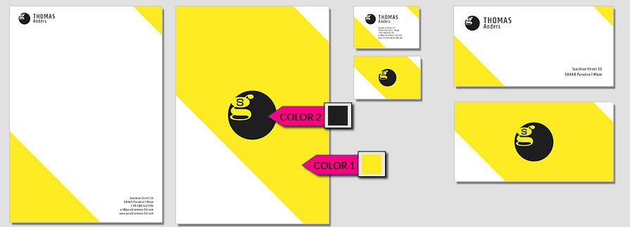 113 Stationery Corporate Design Geschaeftsausstattung Branding 1