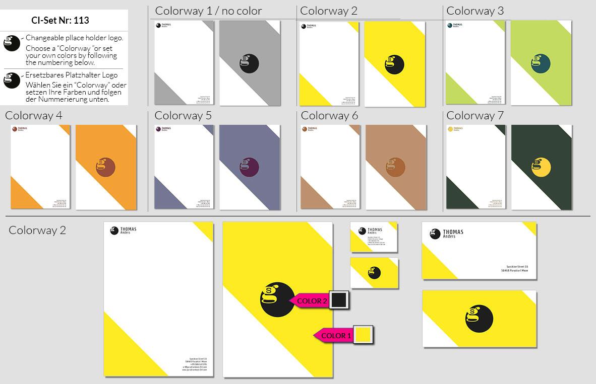 113 Stationery Corporate Design Geschaeftsausstattung Branding 2