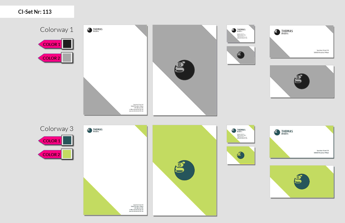 113 Stationery Corporate Design Geschaeftsausstattung Branding 3