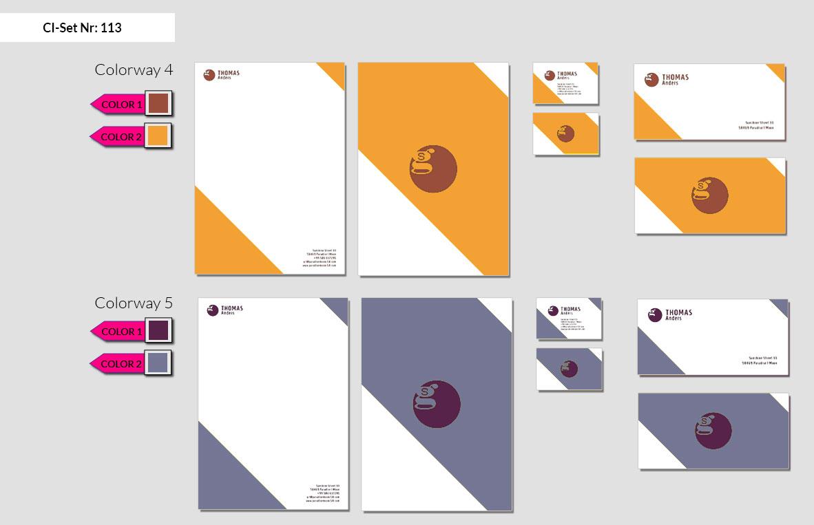 113 Stationery Corporate Design Geschaeftsausstattung Branding 4