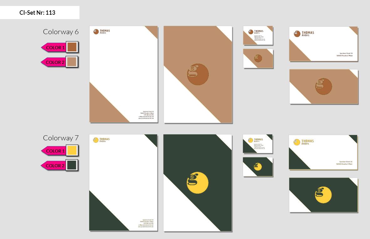 113 Stationery Corporate Design Geschaeftsausstattung Branding 5