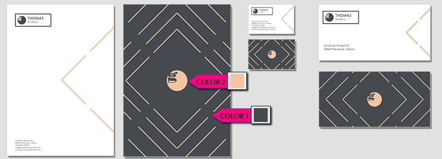 114 Stationery Corporate Design Geschaeftsausstattung Branding 1