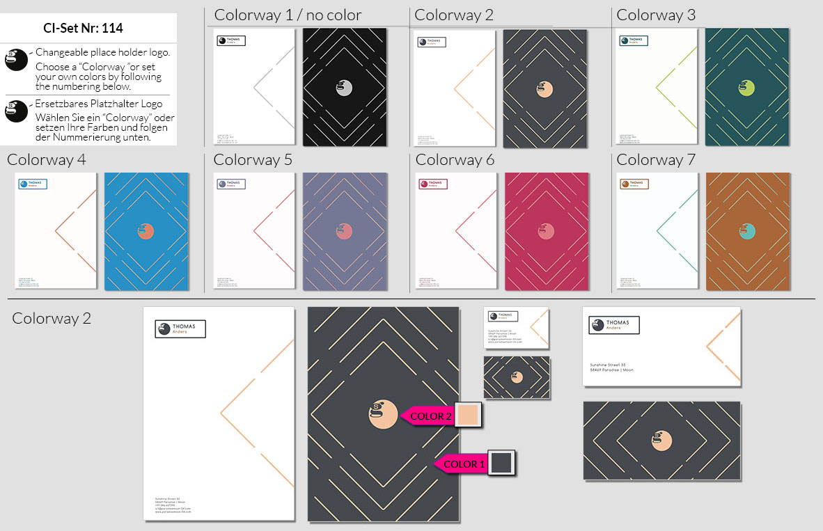 114 Stationery Corporate Design Geschaeftsausstattung Branding 2