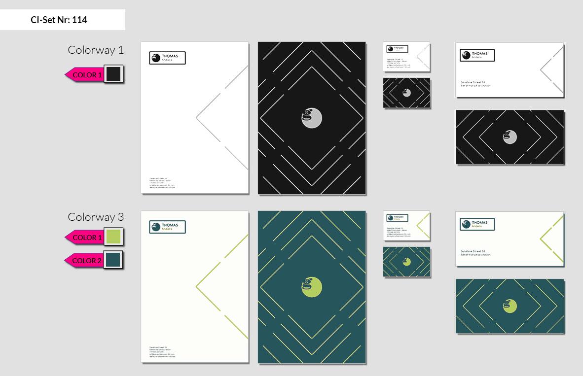 114 Stationery Corporate Design Geschaeftsausstattung Branding 3