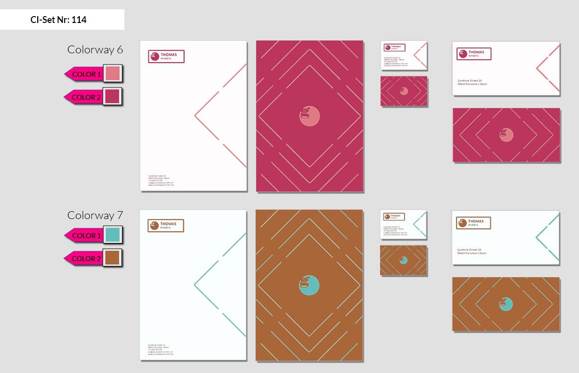 114 Stationery Corporate Design Geschaeftsausstattung Branding 5
