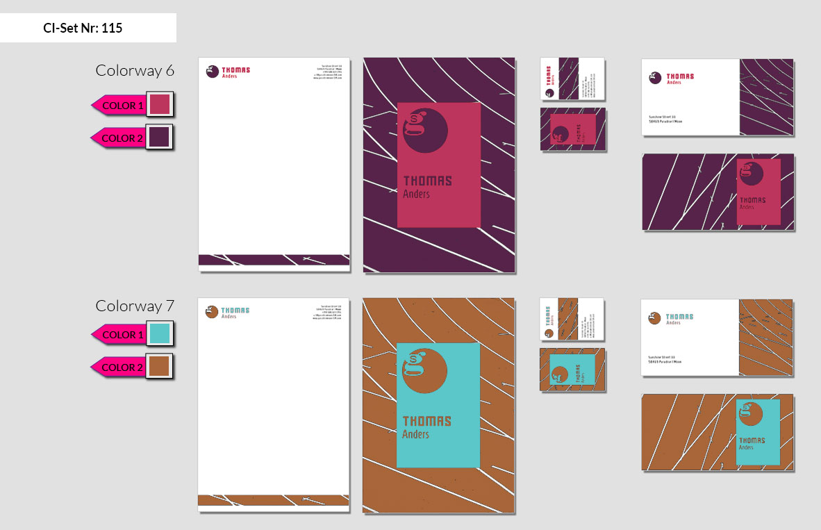115 Stationery Corporate Design Geschaeftsausstattung Branding 5