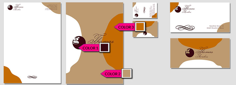 116 Stationery Corporate Design Geschaeftsausstattung Branding 1