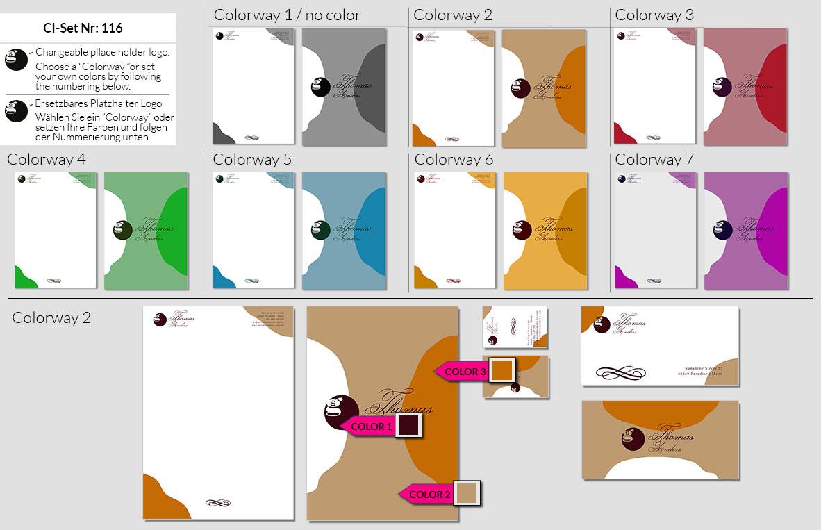 116 Stationery Corporate Design Geschaeftsausstattung Branding 2