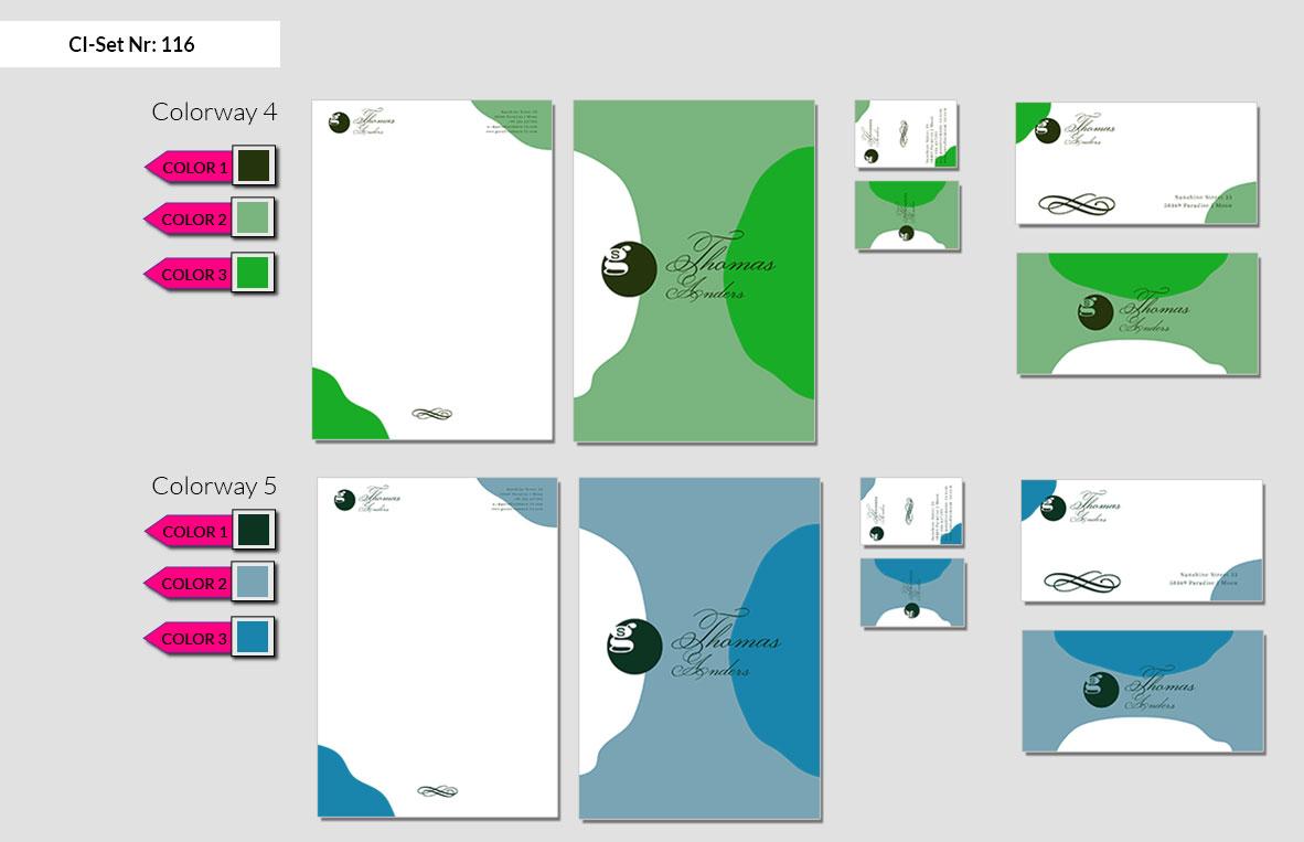 116 Stationery Corporate Design Geschaeftsausstattung Branding 4
