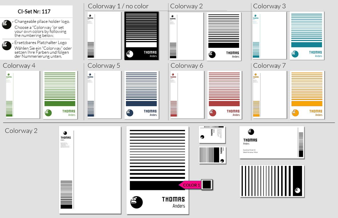 117 Stationery Corporate Design Geschaeftsausstattung Branding 3