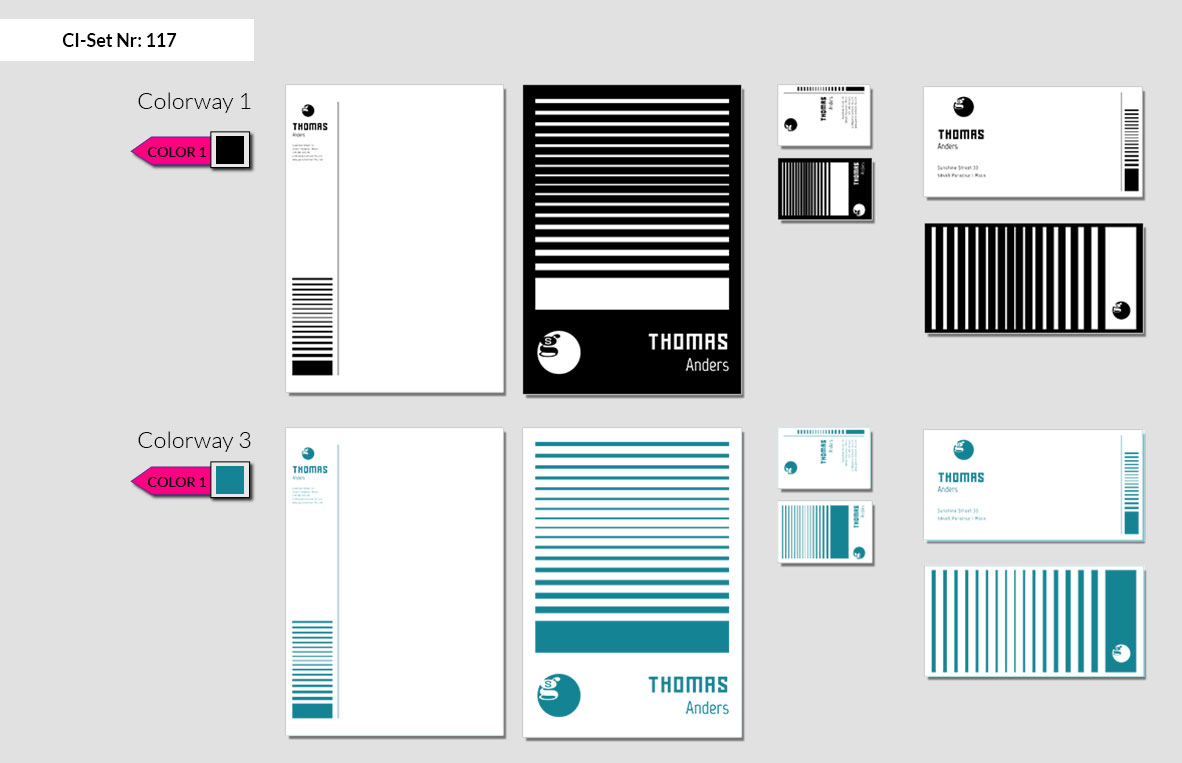 117 Stationery Corporate Design Geschaeftsausstattung Branding 4