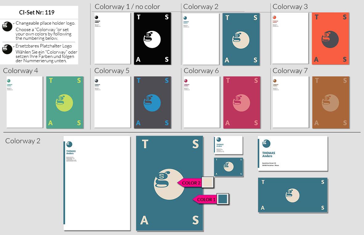 119 Stationery Corporate Design Geschaeftsausstattung Branding 1