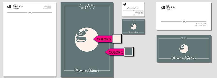 120 Stationery Corporate Design Geschaeftsausstattung Branding 3