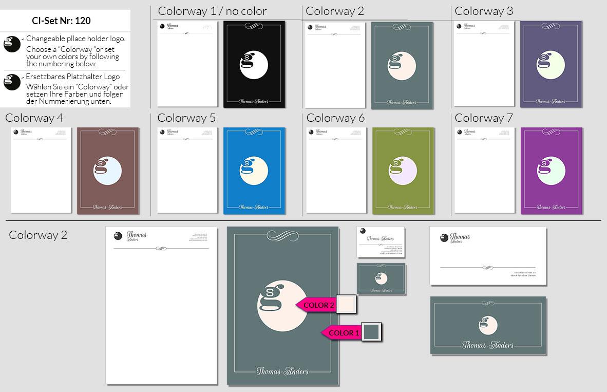 120 Stationery Corporate Design Geschaeftsausstattung Branding 4