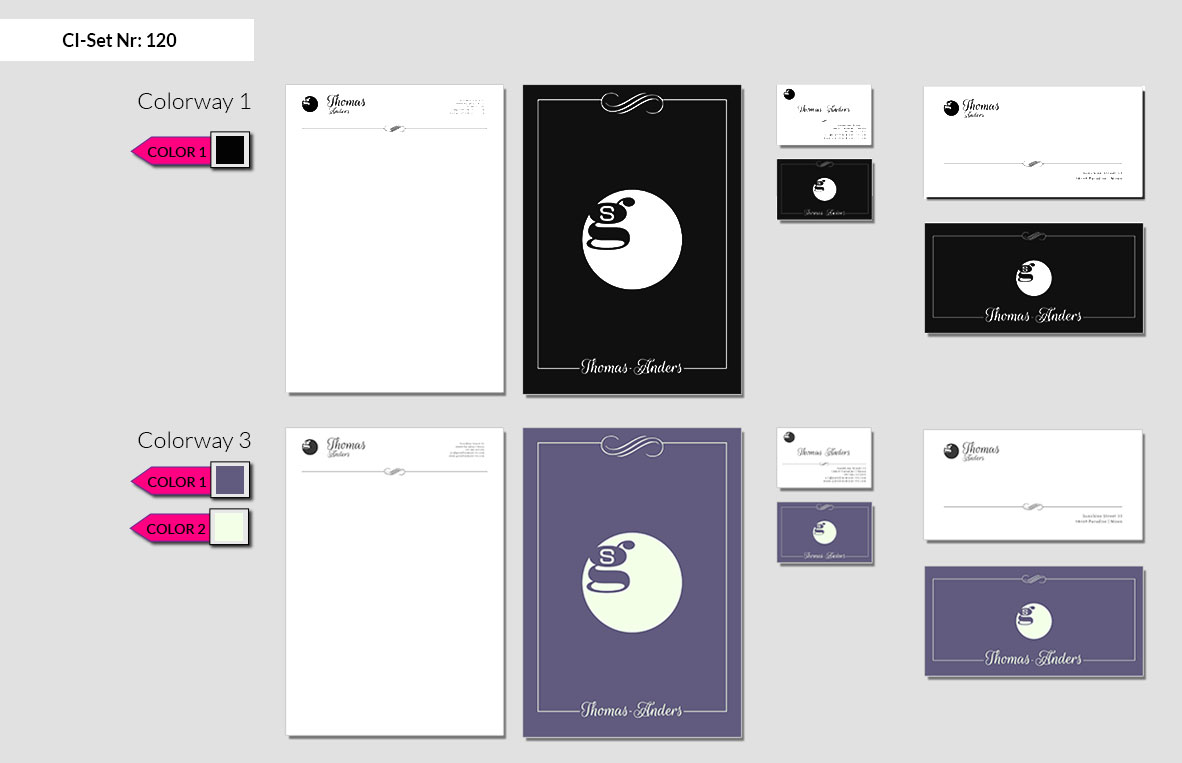 120 Stationery Corporate Design Geschaeftsausstattung Branding 5