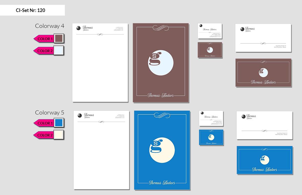 120 Stationery Corporate Design Geschaeftsausstattung Branding 6