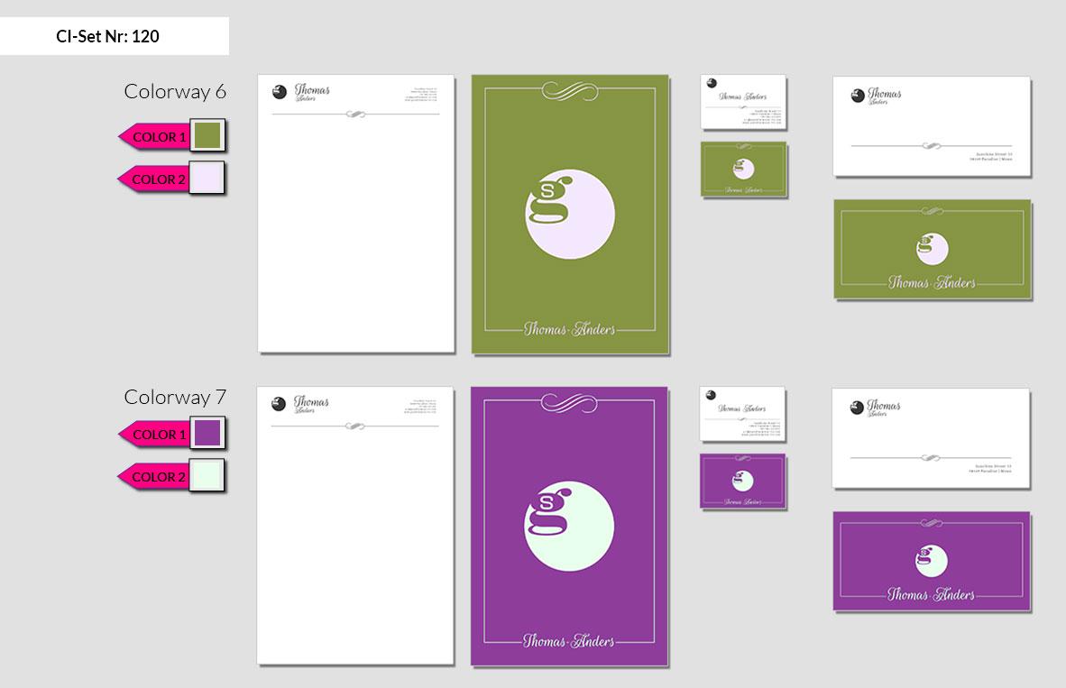 120 Stationery Corporate Design Geschaeftsausstattung Branding 7