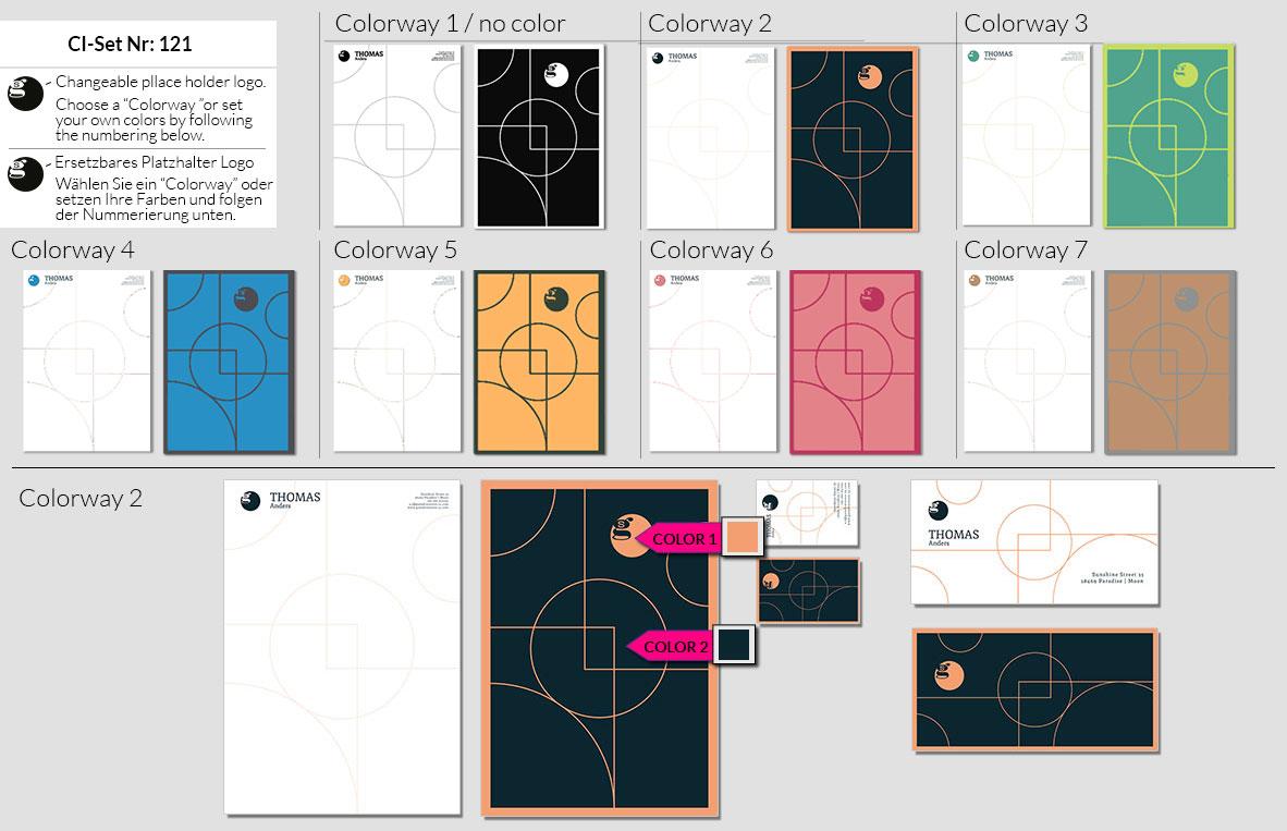 121 Stationery Corporate Design Geschaeftsausstattung Branding 4