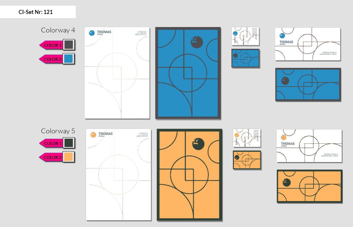 121 Stationery Corporate Design Geschaeftsausstattung Branding 6