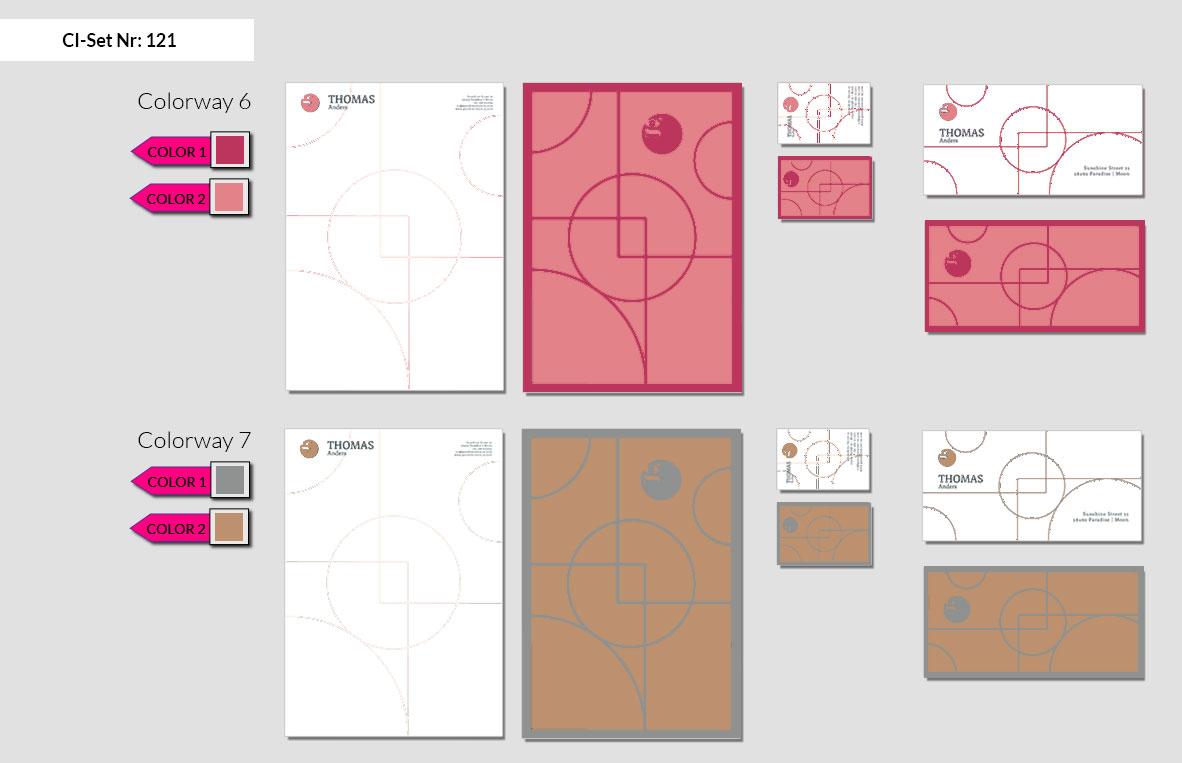 121 Stationery Corporate Design Geschaeftsausstattung Branding 7