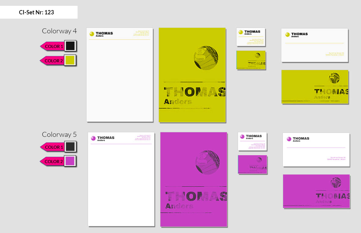 123 Stationery Corporate Design Geschaeftsausstattung Branding 6