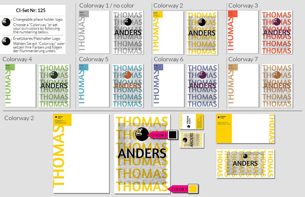 125 Stationery Corporate Design Geschaeftsausstattung Branding 4