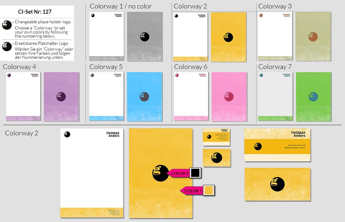 127 Stationery Corporate Design Geschaeftsausstattung Branding 2