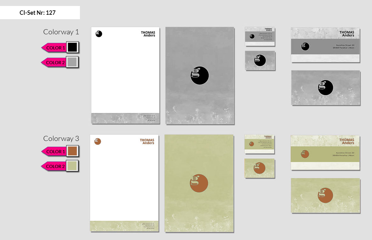 127 Stationery Corporate Design Geschaeftsausstattung Branding 3