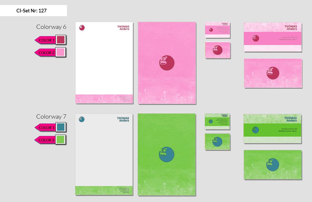 127 Stationery Corporate Design Geschaeftsausstattung Branding 5