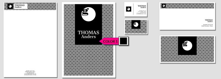 130 Stationery Corporate Design Geschaeftsausstattung Branding 1