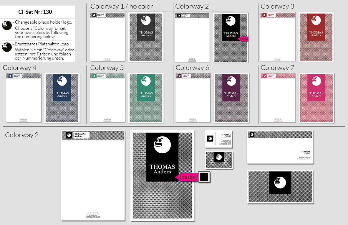 130 Stationery Corporate Design Geschaeftsausstattung Branding 2