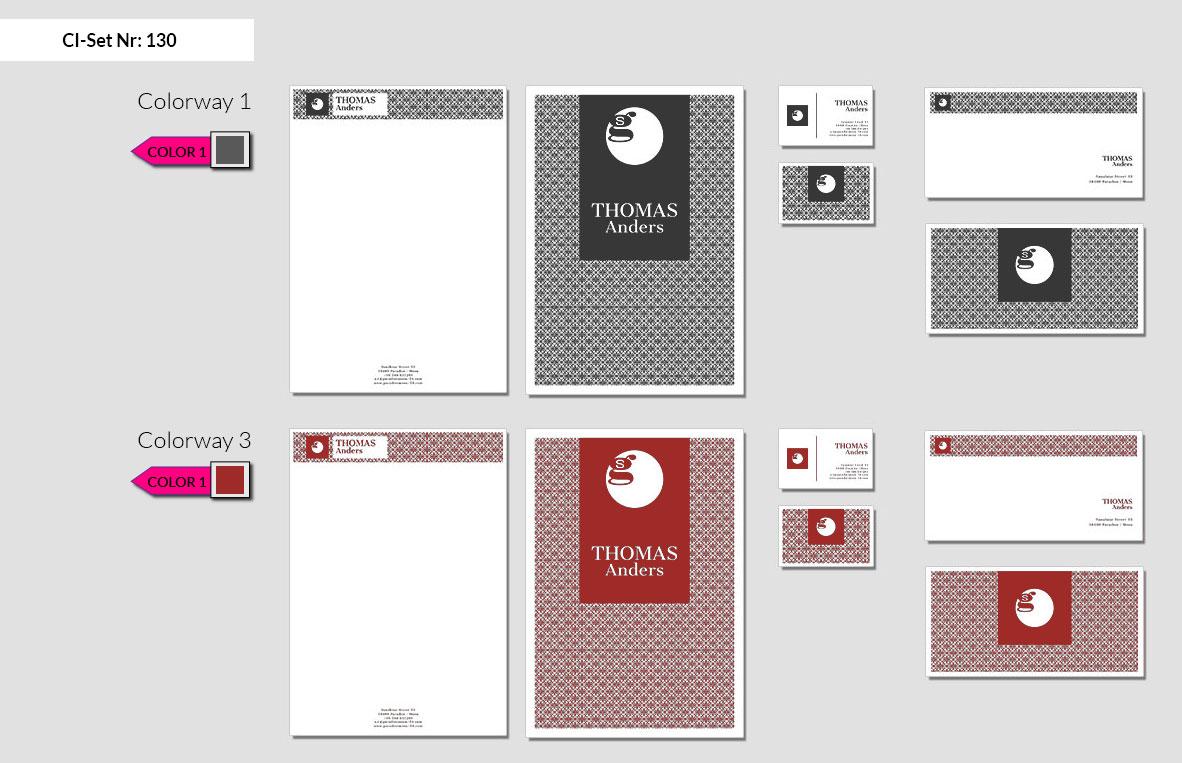 130 Stationery Corporate Design Geschaeftsausstattung Branding 3