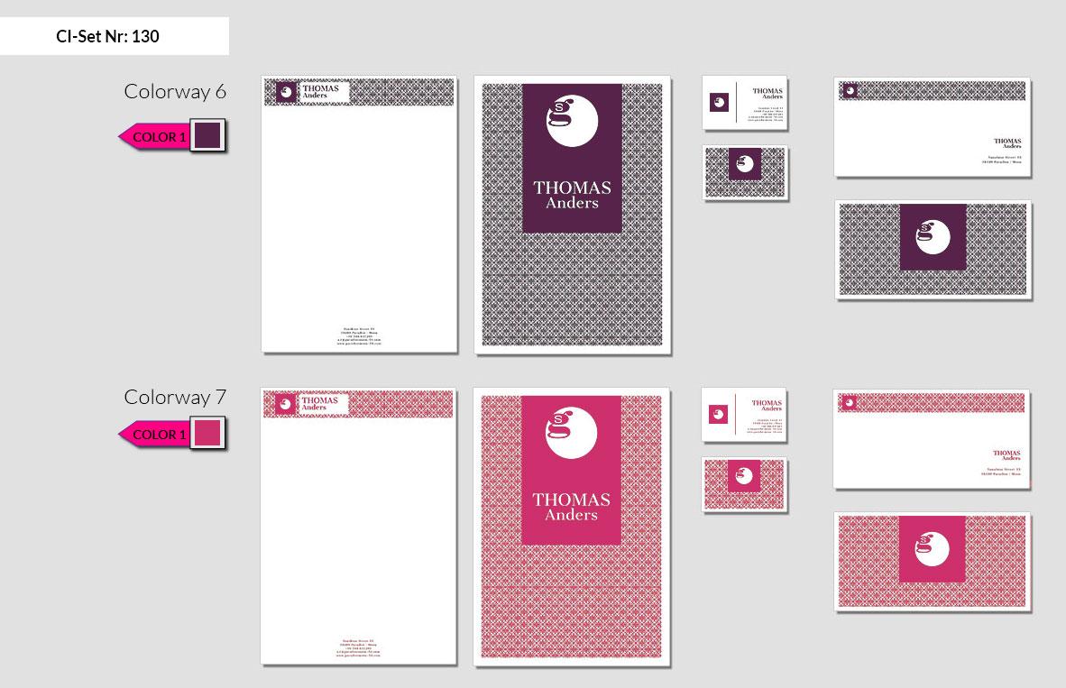 130 Stationery Corporate Design Geschaeftsausstattung Branding 5