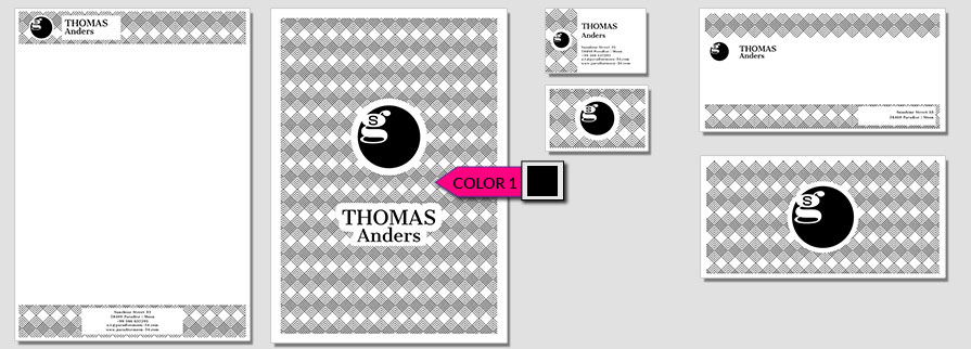 131 Stationery Corporate Design Geschaeftsausstattung Branding 1